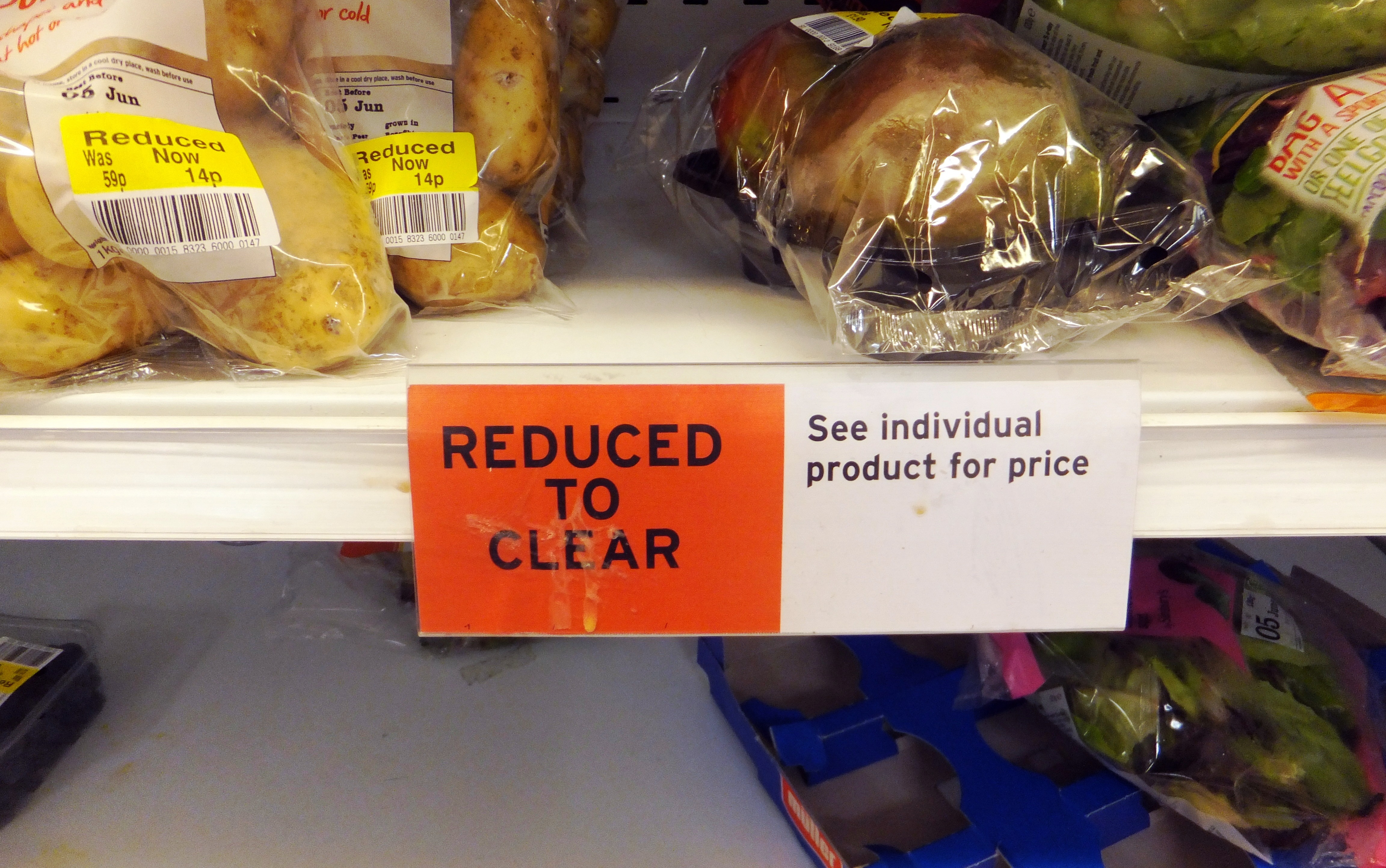 Sainsbury's Reduced to Clear