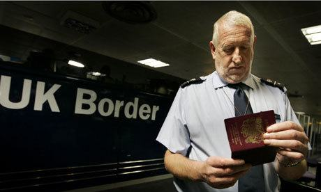 UK Border Passport Check